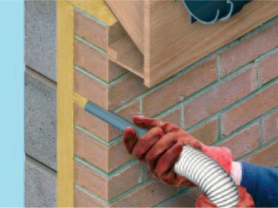 External wall insulation - will also help to prevent condensation on walls & ceilings.