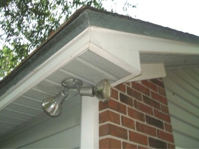 Soffit lining - the better insulated your home, the less energy you need to keep it warm.